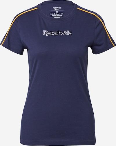Reebok Sport Funktsionaalne särk 'Piping' meresinine / kollane / valge, Tootevaade