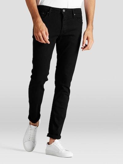 JACK & JONES Jeans 'JJIGLENN JJFELIX AM 046 LID NOOS' i svart, På modell