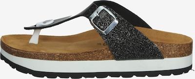 COSMOS COMFORT Séparateur d'orteils en noir, Vue avec produit