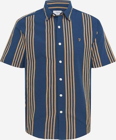 FARAH Košulja 'MARINA' u tamno plava / smeđa, Pregled proizvoda