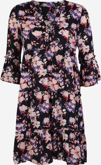 Vero Moda Tall Kjole 'INES' i blå / natblå / lyserød, Produktvisning