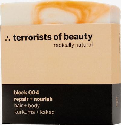 Terrorists of Beauty Seife 'Block Repair + Nourish' in creme / orange, Produktansicht