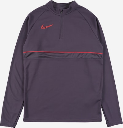 NIKE Športová mikina - baklažánová / jasne červená, Produkt