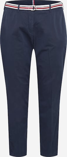 Tommy Hilfiger Curve Pantalon chino en bleu foncé, Vue avec produit