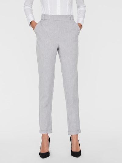 VERO MODA Pantalon 'MAYA' en gris, Vue avec modèle