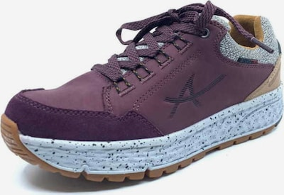 ALLROUNDER BY MEPHISTO Sneakers in dunkelbraun / grau / bordeaux, Produktansicht