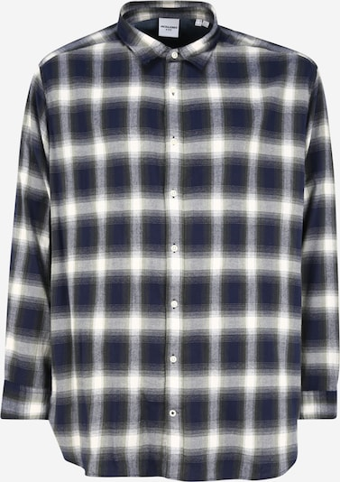 Jack & Jones Plus Shirt in blue / grey / green / white, Item view