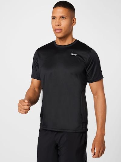 Reebok Sport Funktionsshirt in schwarz: Frontalansicht