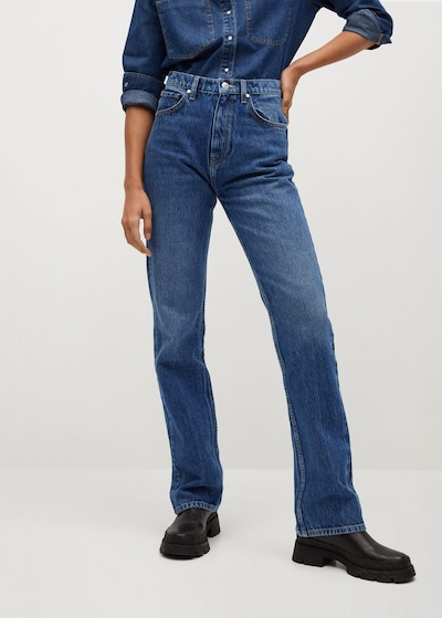 MANGO Džínsy - modrá denim, Model/-ka