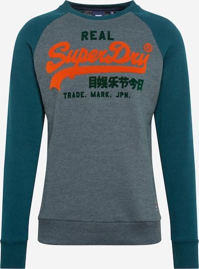 Superdry Sweatshirt in de kleur Groen, Productweergave
