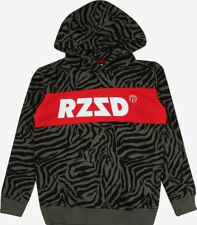 Megztinis be užsegimo 'Riga' iš Raizzed , spalva - rusvai žalia / raudona / juoda / balta, Prekių apžvalga