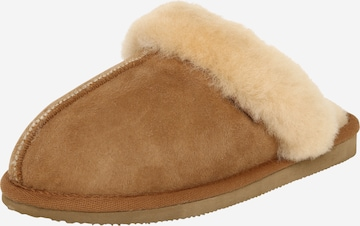 SHEPHERD Slippers 'Jessica' in Brown