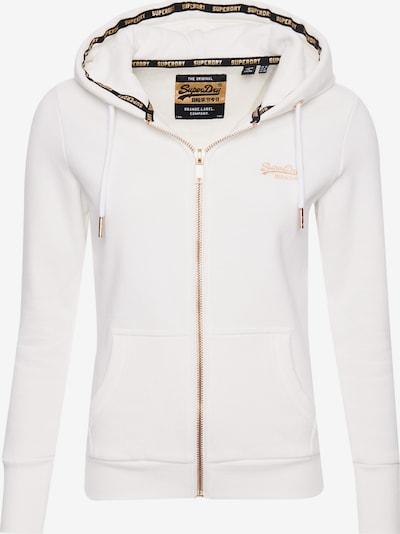 Superdry Jacke in gold / weiß, Produktansicht