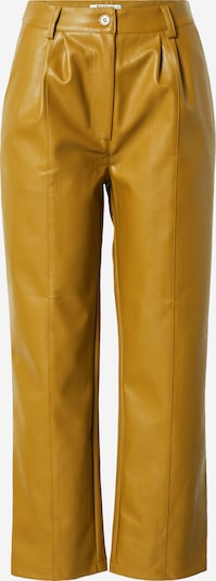 NA-KD Pleat-Front Pants in Curry, Item view