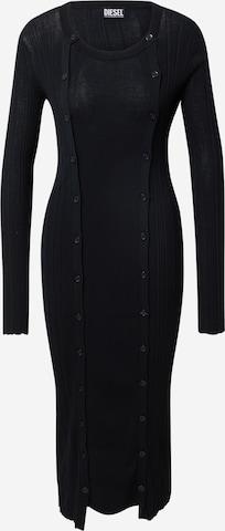 melns DIESEL Adīta kleita 'GEORGIA'