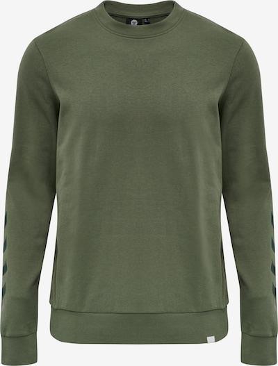 Hummel Sweatshirt in khaki / schwarz, Produktansicht