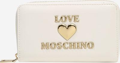 Love Moschino Porte-monnaies en or / blanc, Vue avec produit