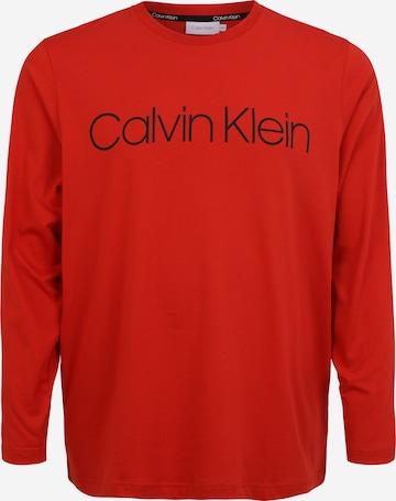 Calvin Klein Big & Tall Shirt in Rot