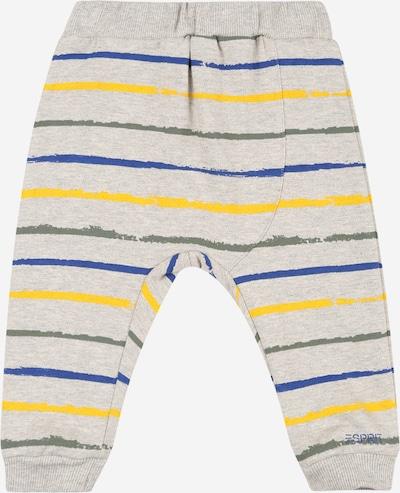 ESPRIT Broek in de kleur Blauw / Geel / Grijs gemêleerd, Productweergave