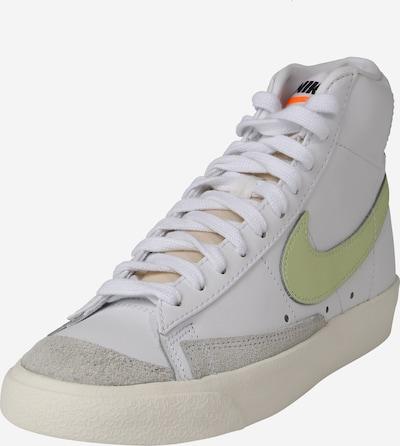 Nike Sportswear Visoke tenisice 'BLAZER' u siva / svijetlozelena / bijela, Pregled proizvoda
