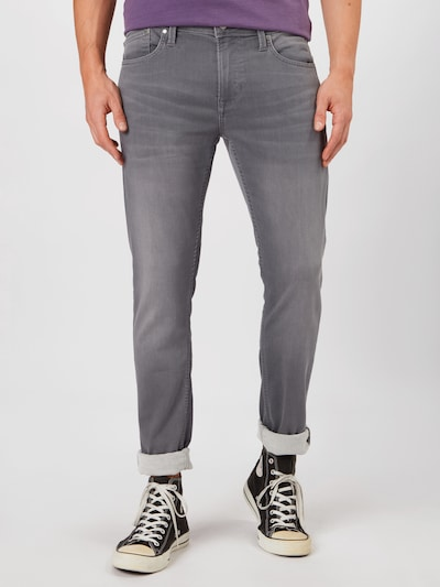 Pepe Jeans Jeans 'Finsbury' in de kleur Grey denim, Modelweergave