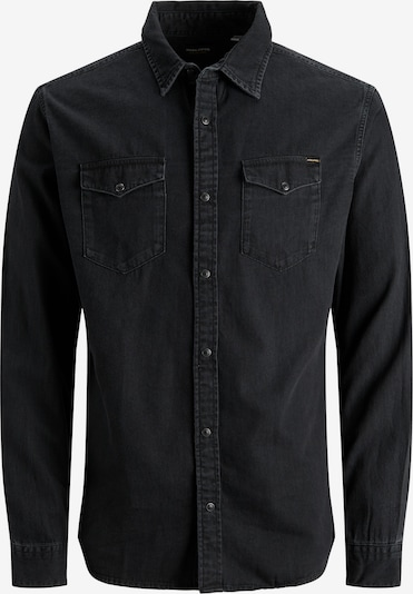 JACK & JONES Overhemd 'JJESHERIDAN' in de kleur Black denim, Productweergave