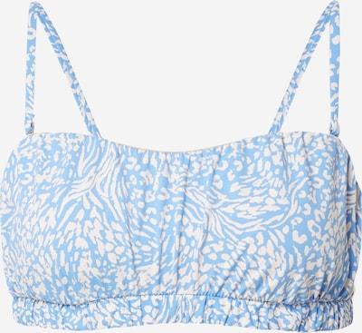 Cotton On Body Bikini zgornji del | svetlo modra / bela barva, Prikaz izdelka
