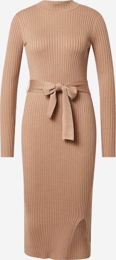 Megzta suknelė iš NEW LOOK, spalva – kupranugario, Prekių apžvalga