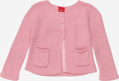 s.Oliver Junior Strickjacke in altrosa, Produktansicht