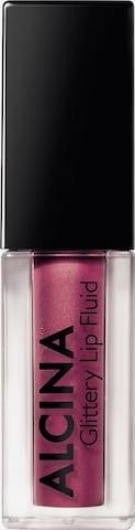 Alcina Lipgloss 'Glittery Lip' in Lila
