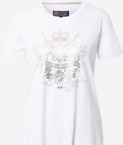 La Martina Tričko 'RWRG01JS264' - zlatá / sivá / biela, Produkt