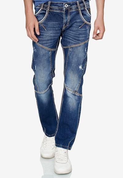 Rusty Neal Jeans 'Munday' in blau, Modelansicht
