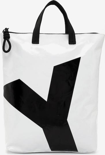 Suri Frey Rucksack 'Jessey' in schwarz / weiß, Produktansicht