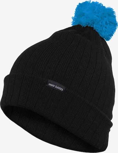 Urban Classics Bonnet en bleu clair / noir, Vue avec produit