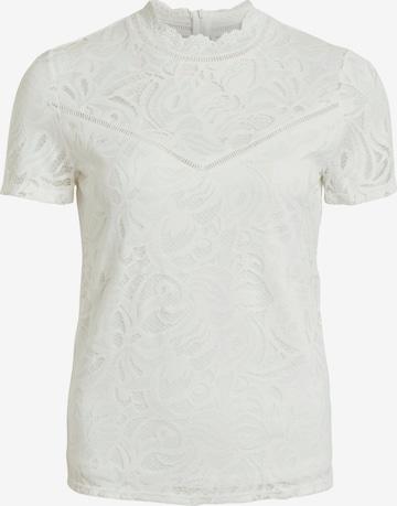 VILA Tričko 'VISTASIA' - biela
