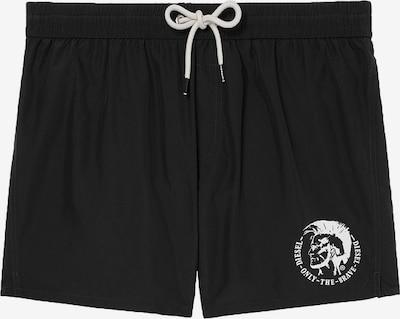 DIESEL Shorts de bain en noir, Vue avec produit