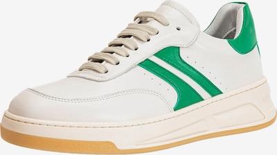 INUOVO Sneaker in grasgrün / weiß, Produktansicht