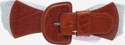 Orwell Taillengürtel in XS-XL in braun / silber, Produktansicht