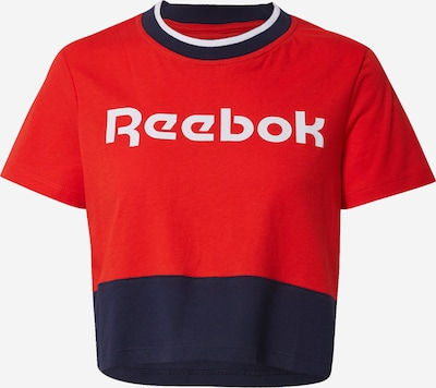 REEBOK Functional shirt in night blue / red, Item view