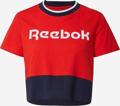 REEBOK Sport-Shirt in nachtblau / rot, Produktansicht