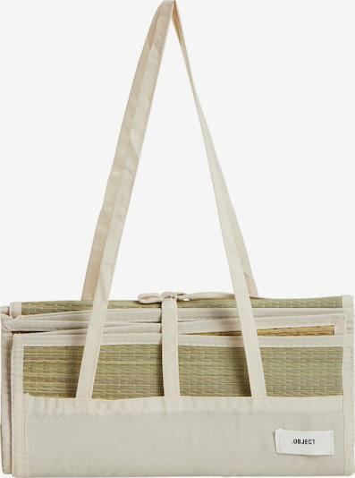Tappetino da bagno OBJECT di colore sabbia / bianco naturale, Visualizzazione prodotti