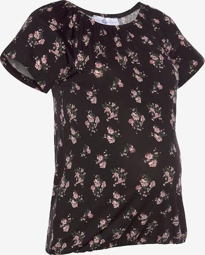 Neun Monate T-Shirt in tanne / rosé / hellpink / schwarz, Produktansicht