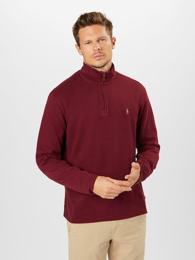 POLO RALPH LAUREN Pullover in rostrot: Frontalansicht