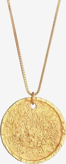 KUZZOI Halskette Geo, Organic in gold, Produktansicht