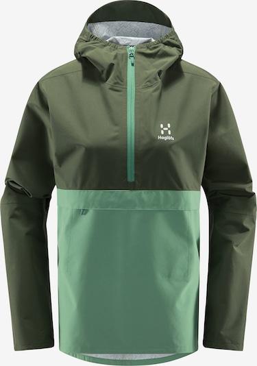 Haglöfs Outdoorjacke  'Spira' in khaki / mint, Produktansicht