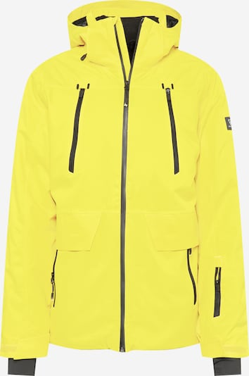 BRUNOTTI Jacke 'Boran' in gelb / grau, Produktansicht