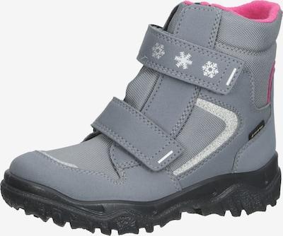 SUPERFIT Stiefel in grau / pink / silber, Produktansicht