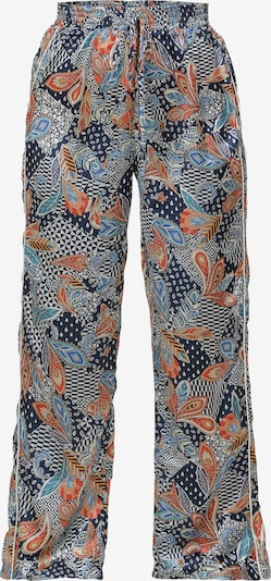 Usha Trousers in Navy / Mixed colours, Item view