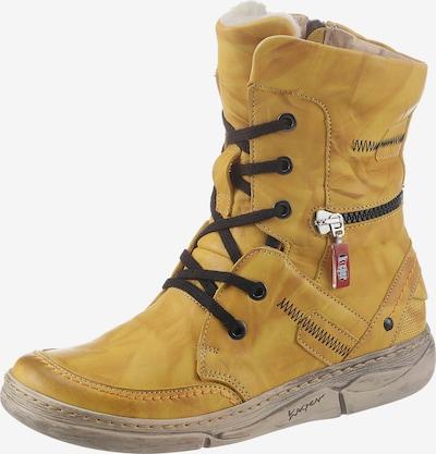 KACPER Winterstiefel in gelb, Produktansicht