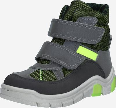 RICOSTA Snow boots 'GEBRIS' in Grey / Basalt grey / Neon green, Item view